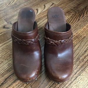 Ugg clog heels
